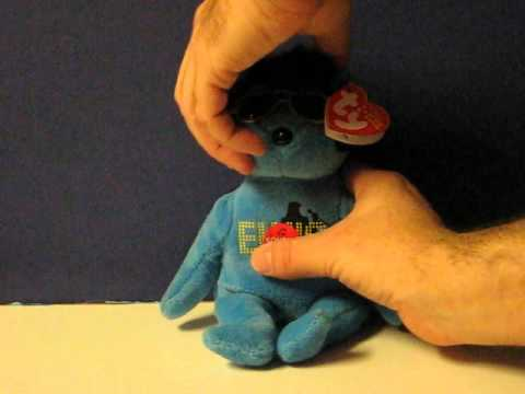 Sale Item Demo - Beanie Babies Singing Elvis - Sings Your Teddy Bear ... 8e99f1c9fe76