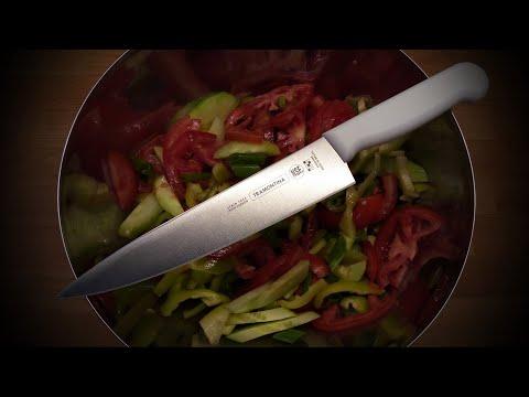 TRAMONTINA Professional 8 Inch Knife Vs. Vegetables