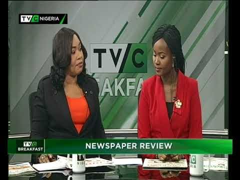 TVC Breakfast 19th Feb. 2018 |  Newspaper Review