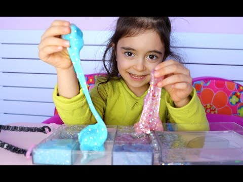 Emily Playing with Glam Goo -Kids Video Entertainment