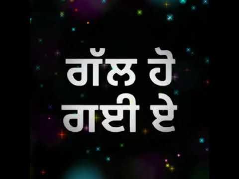 new-punjabi-song---babbu-maan-|-romantic-whatsapp-status-|-black-background-status-lyrics
