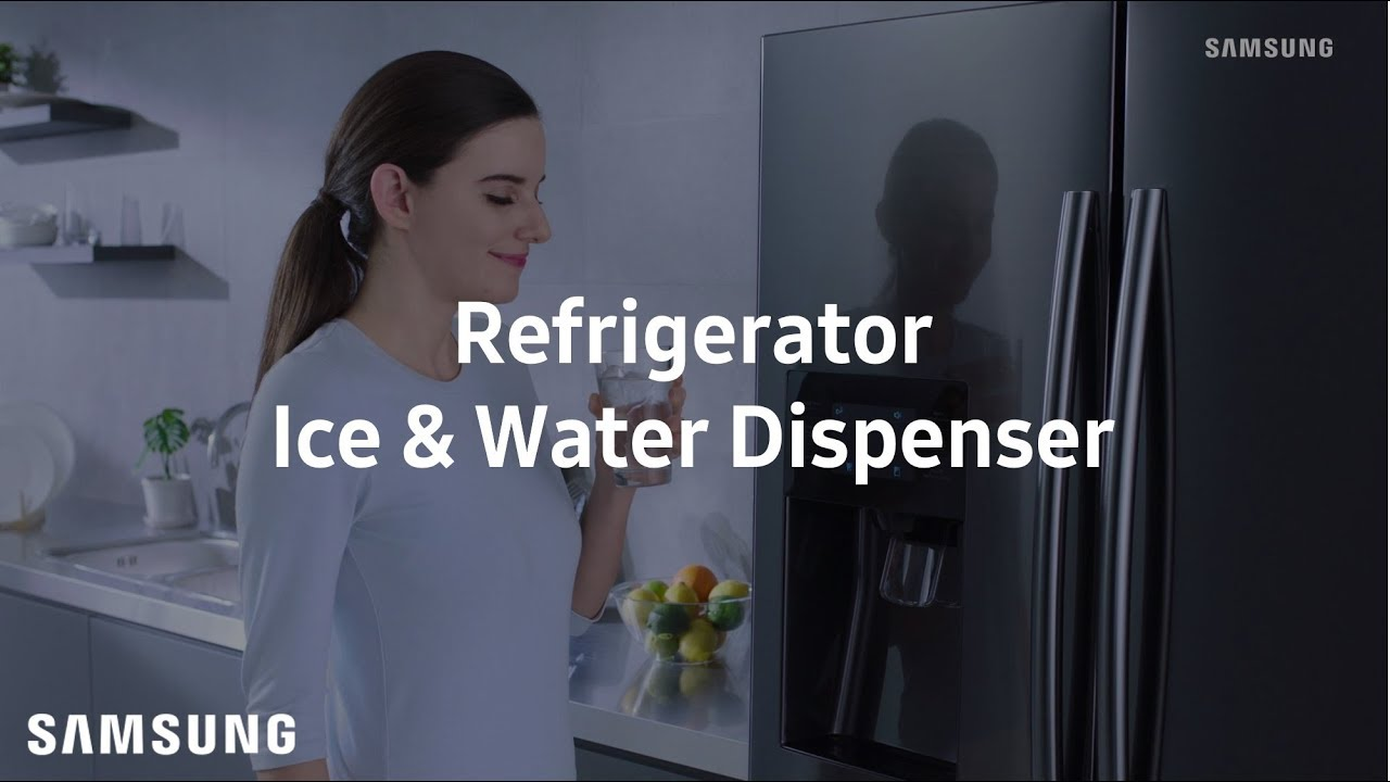 Samsung French Door Refrigerator Ice Water Dispenser Youtube Circuit Board Timer Wd21x574 Repaircliniccom