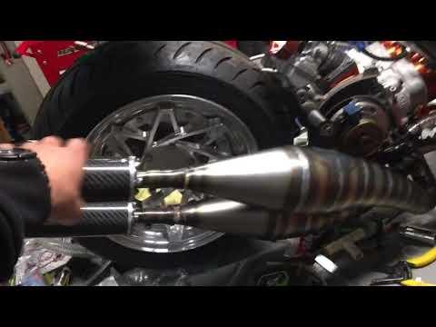Scooterswapshop twin cylinder stage6 zuma 125 2 stroke