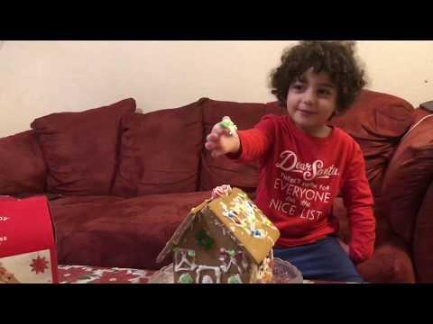 Gingerbread kit House! Ginger House, Christmas! For kids