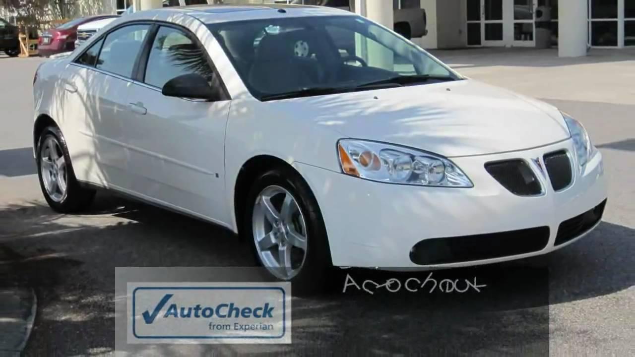 G6 2007 Pontiac G6 White Sunroof 17 Quot Wheels Spoiler