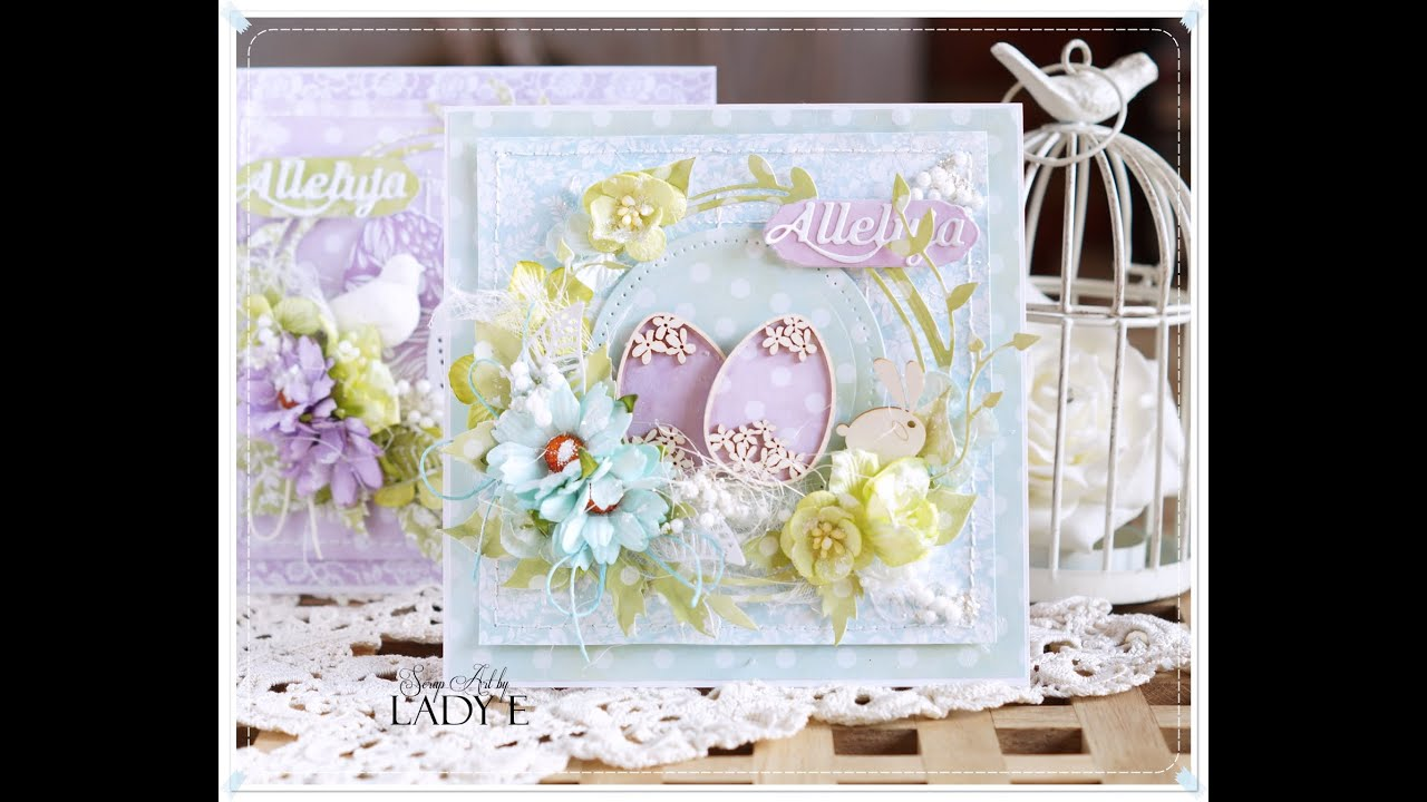Easter Cards Tutorial Emilia Sieradzan YouTube