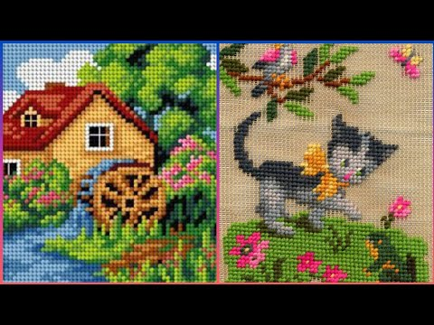 Beautiful Cross Stitch Embroidery Pattern New Designs For you