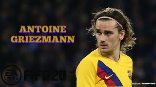 Player details here - https://www.fifaindex.com/player/194765/antoine-griezmann/ gameplay highlights the player's best attributes, some stats are enhanced du...