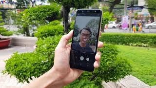 Đánh giá nhanh Samsung Galaxy A6+ camera kép xóa phông, màn hình tràn viền