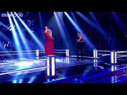 Barbara Bryceland Vs Leanne Mitchell - The Voice UK - Battle