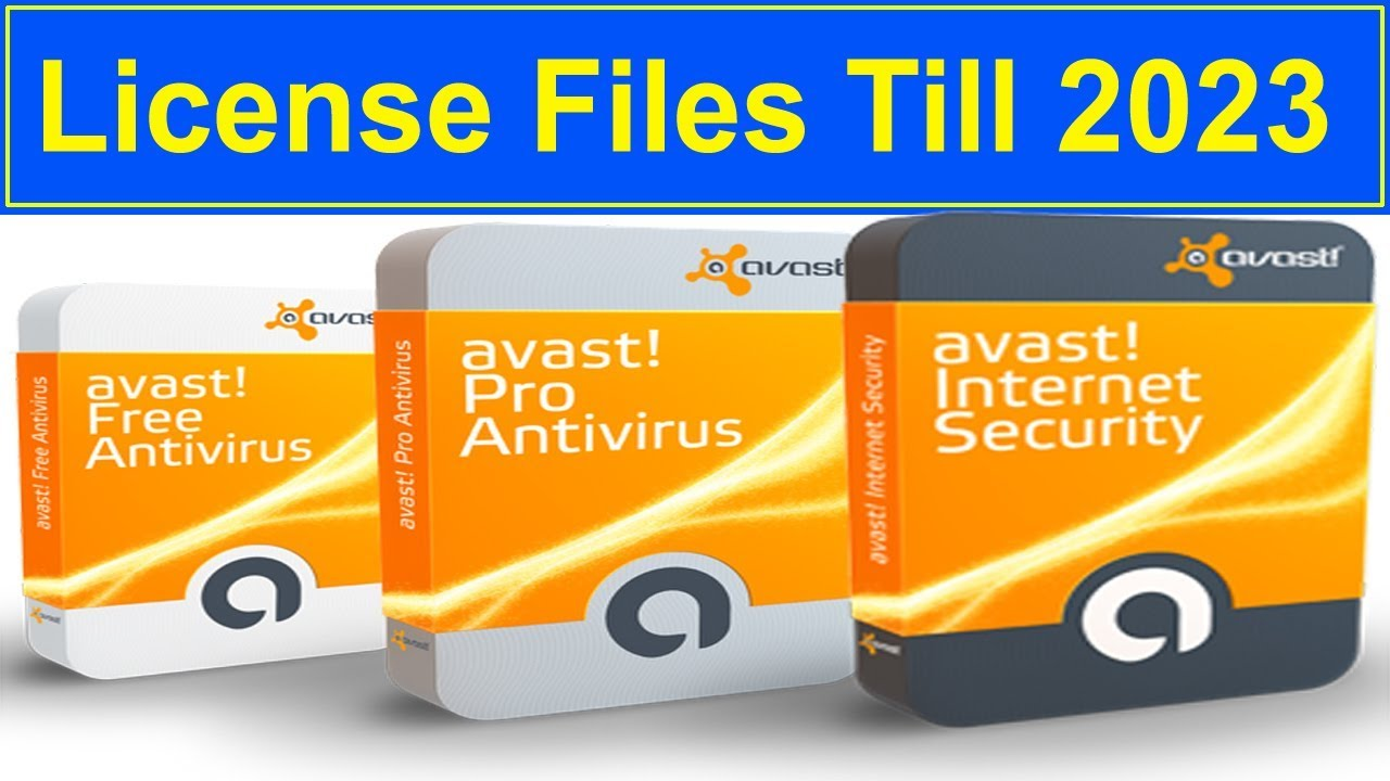 avast premier licence files