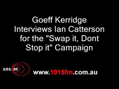 Interview with Ian Catterson for the Swap it, Dont Stop it