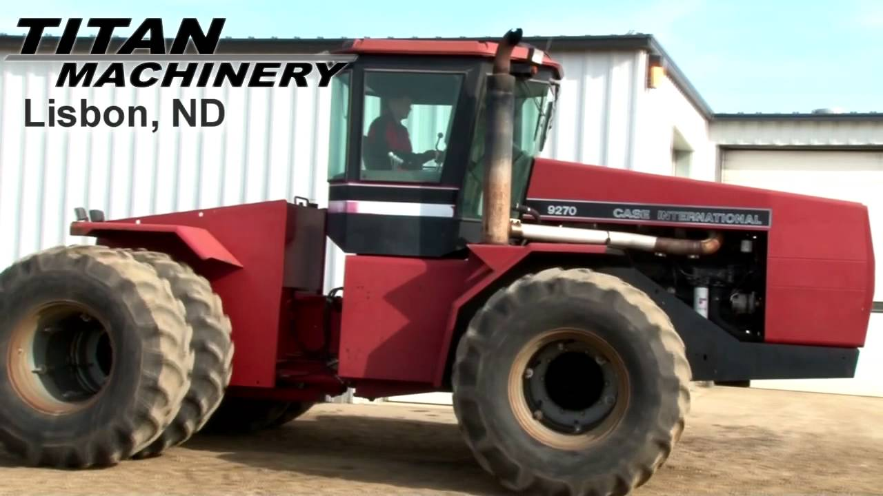 Case Ih 9270 Tractor For Sale  Youtube
