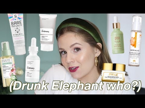 The BEST Drugstore & Affordable Skincare Products!