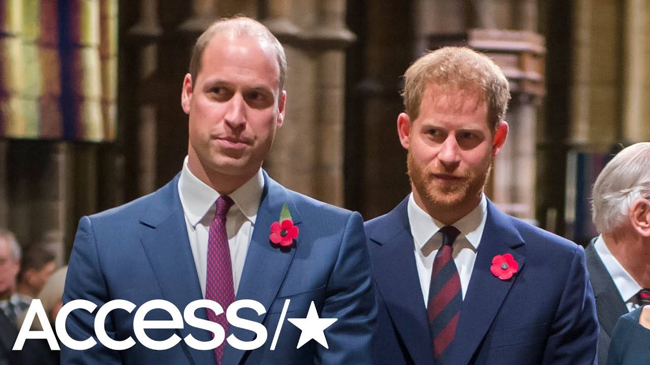 Download Did Prince William & Prince Harry Give Each Other The Cold Shoulder At Easter Service? | Access