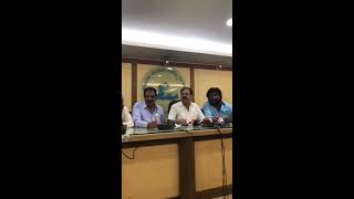 Huccha Venkat Apology to Journalist at KFCC