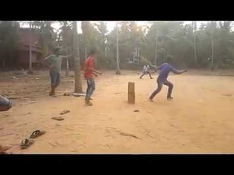 Cricket DRS replay in gully cricket
