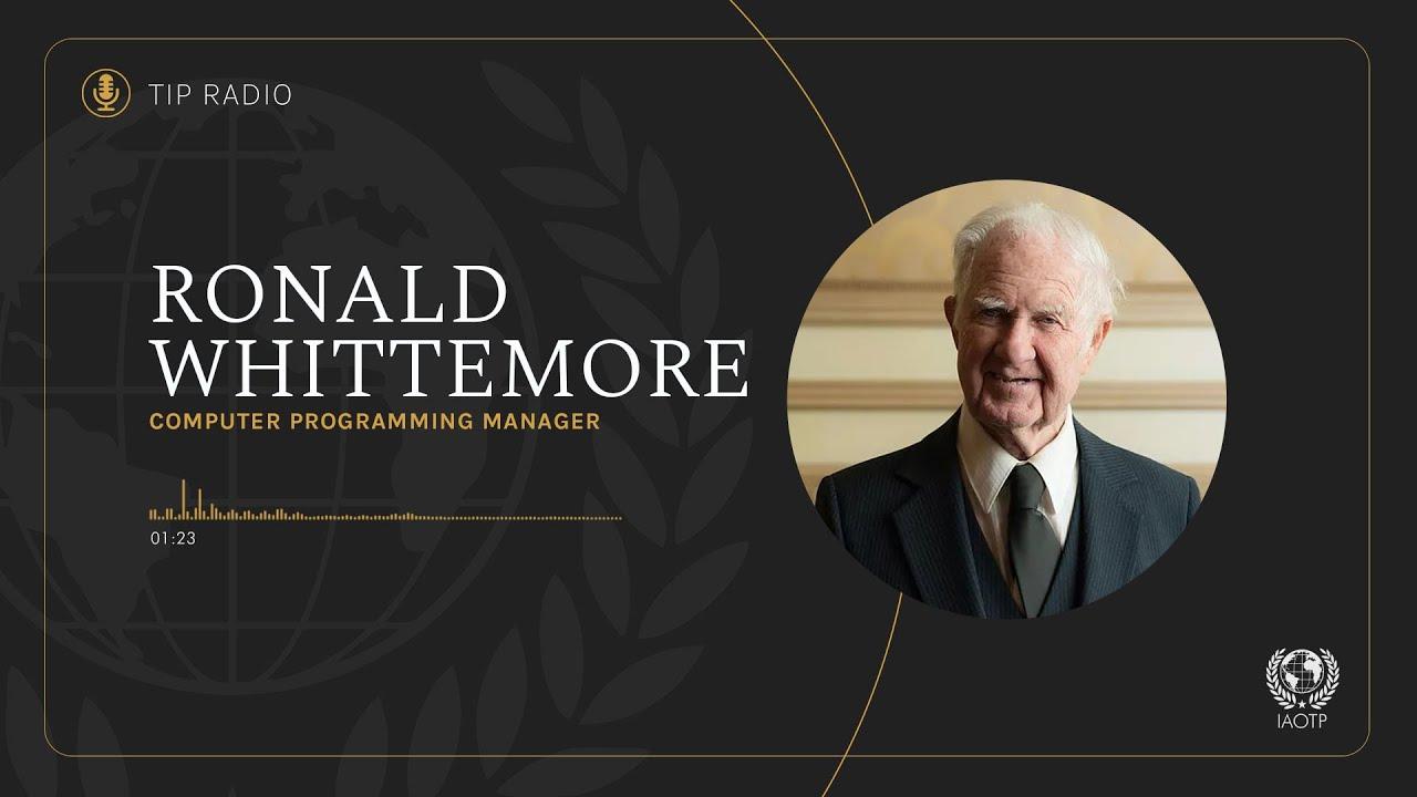 Ronald Whittemore interviewed on TIP Radio