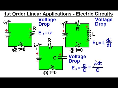 how to work out voltage drop in a circuit