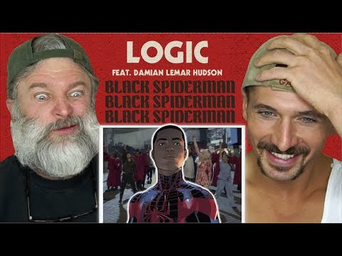 Gay Guys React- Logic - Black SpiderMan ft. Damian Lemar Hudson