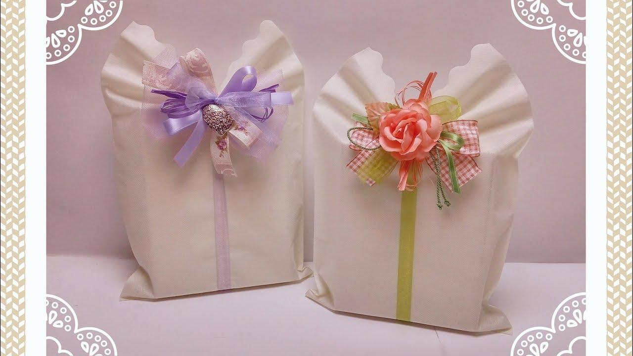 Come Fare Pacchetti Natalizi plissi: la confezione regalo facile & veloce