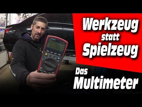 Werkzeug-statt-Spielzeug #01 | Das Multimeter - was kann es, warum braucht man es?