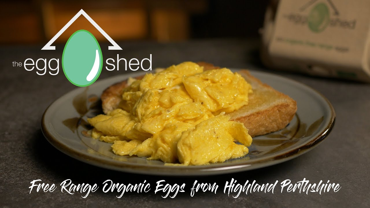 The Egg Shed - Organic Free Range Eggs from Highland Perthshire