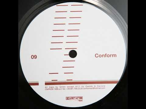 QMen - Untitled A1 - Elevate E.P.  - Conform – CNFR/09