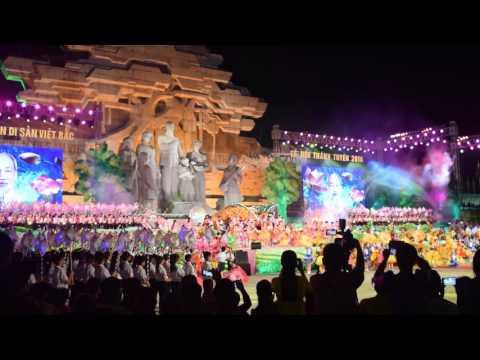 Đêm hội trăng rằm - Lễ hội Thành Tuyên 2016