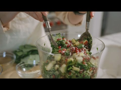 Healthy Recipes | Collard Green & Brussels Sprouts Salad