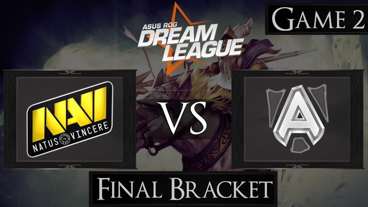 Download Dota 2 Na'Vi vs Alliance   DreamLeague Season 3