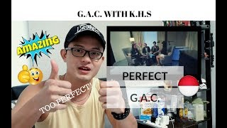 [REAKSI] PERFECT SOUND! G.A.C. with KHS singing PERFECT (One Direction) | Indonesia
