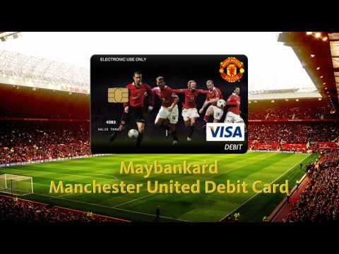 Maybankard Manchester United Debit Card