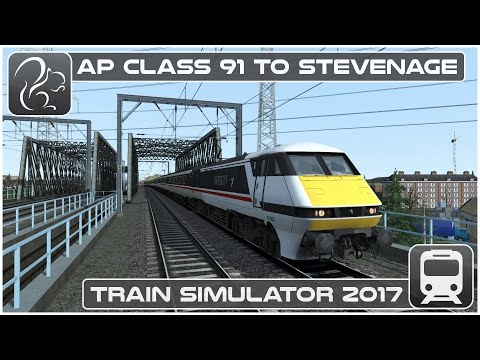 Train Simulator 2017 - AP Class 91 to Stevenage (Max Difficu