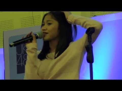Alicia Chanzia [Acha JKT48] - Stand Up Comedy @ Balai Kartini Event Handshake Manatsu no Sounds Good