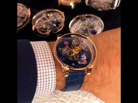 4939852a61e5d Jacob & Co. $1 Million Astronomia Flawless in Transparent Sapphire ...