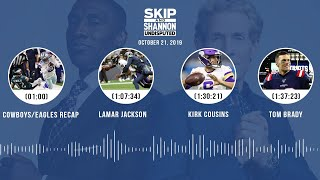 UNDISPUTED Audio Podcast (10.21.19) with Skip Bayless, Shannon Sharpe & Jenny Taft | UNDISPUTED