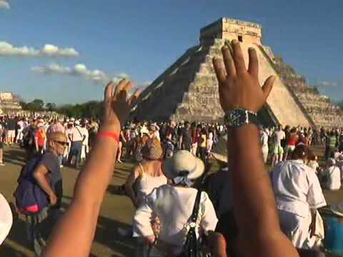 El descenso de Kukulcán en el Castillo de Chichén Itzá
