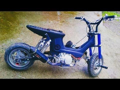 CARBON Honda Chaly RACING 135  cc - By Zorbaj Bacci
