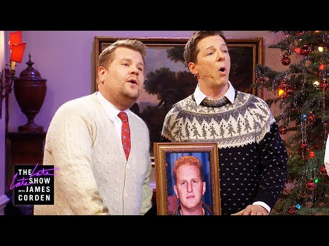 Michael Ra-pa-pa-port/Little Drummer Boy Parody w/ Sean Hayes