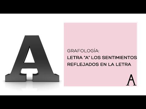 GRAFOLOGIA .: Letra