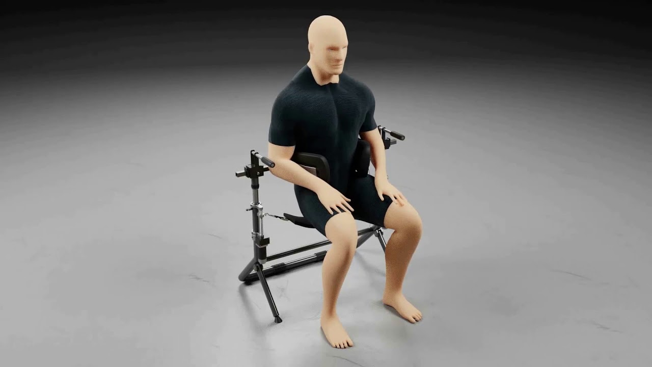 Spinal Decompression Chair Recliner Glider Youtube