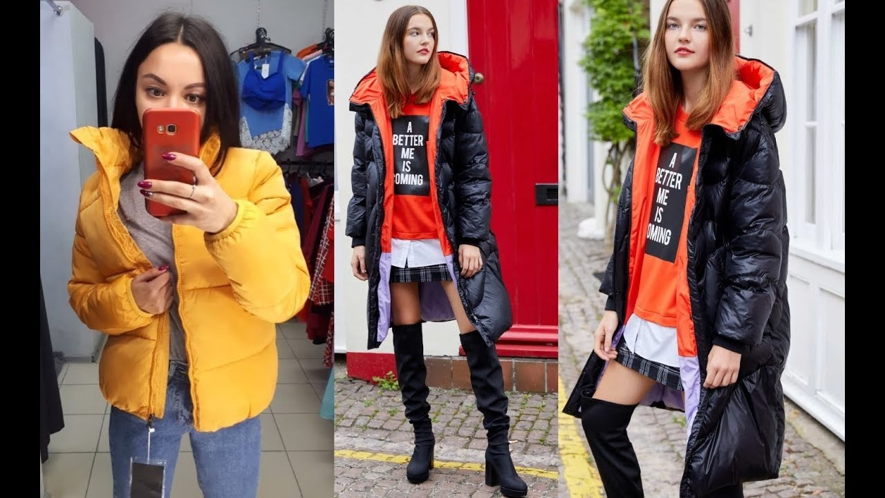 7 Женская зимняя куртка с Алиэкспресс Aliexpress Winter Women's jacket Крутые Куртки Пуховики 2