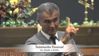 Luiz Claudio - Testemunho Dr Emanuel - Musica  - Boston - Massachusetts - USA
