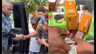 Da Baby Buys $400 Of Boy Scout Cookies Just To Give Them Back