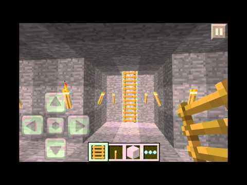 Minecraft Pocket Edition How to Build Zombie Trap + Viewing