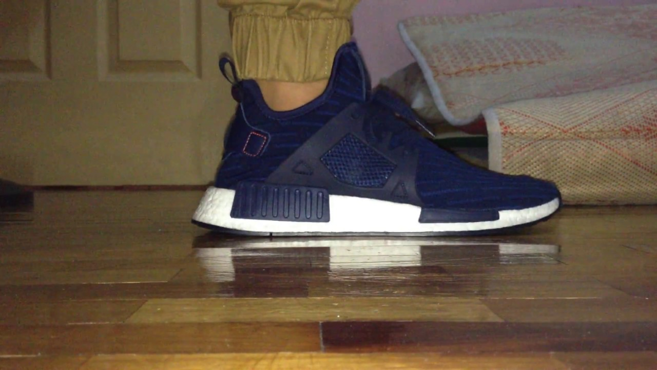 574772dcab1d NMD XR1 PK Navy Blue Black White