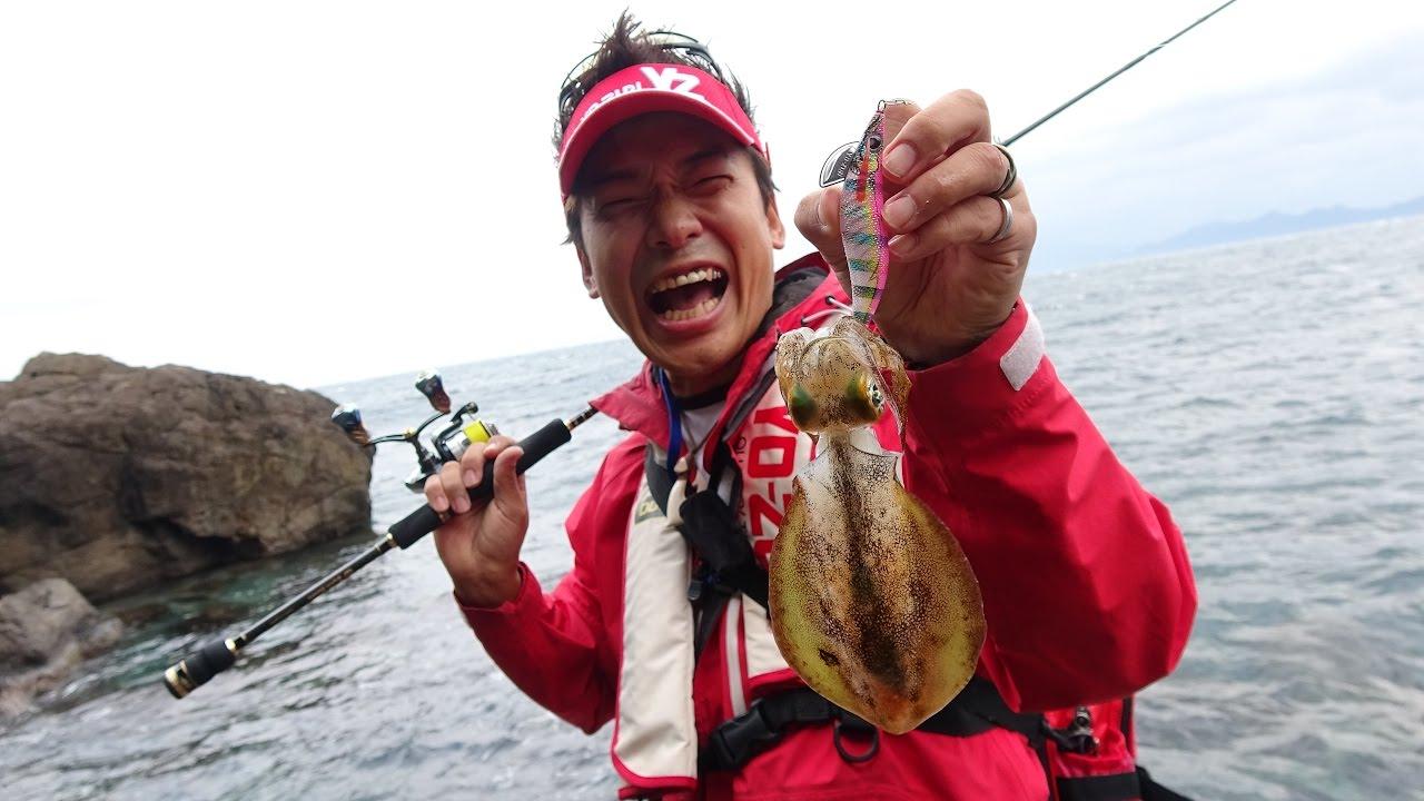 関西 イカ 釣り