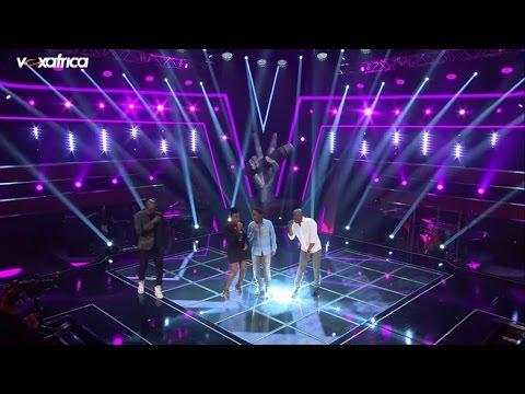 Les coachs chantent un medley aux auditions à l'aveugle   The Voice Afrique 2016   saison 1