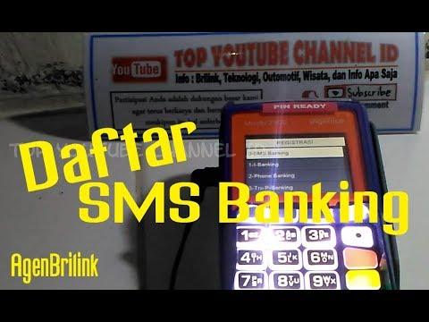 Cara Daftar SMS Banking BRI Melalui Mesin EDC Agen Brilink